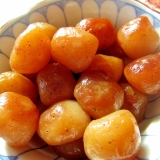 玉蒟蒻の味醂醤油炒め煮
