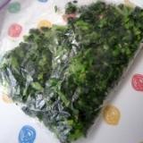 セロリの葉は冷蔵保存!