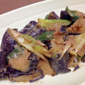 ご飯がすすむ☆豚肉となすのごま味噌炒め