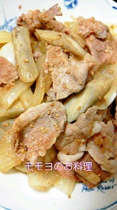豚モモ肉の生姜煮
