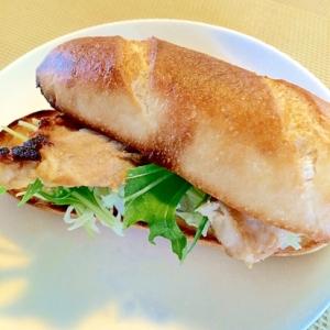 プチパンで☆豚味噌焼きサンド
