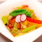 豚バラとたっぷり野菜のバーニャカウダ煮込み