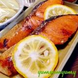 フライパンで焼き魚です☆お手軽に焼いちゃいましょw
