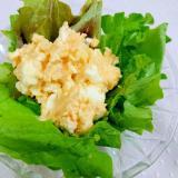 ゆで卵とじゃがいものめんたいサラダ