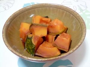 こってりかぼちゃの甘煮++