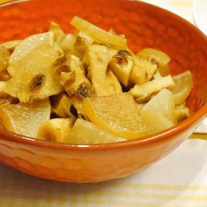 味ぽんで簡単★焼きちくわと大根のさっぱり煮