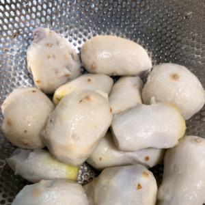 里芋の簡単下処理