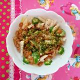 長芋と納豆
