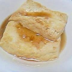 冷奴をremake豆腐のステーキ