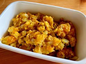 おつまみや作り置きに☆かぼちゃとレンズ豆のサラダ