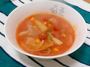 簡単!具沢山トマトスープ