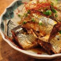 骨ごと秋の味覚を楽しむ◆秋刀魚の煮物