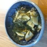 簡単!切り昆布と筍のさっと煮
