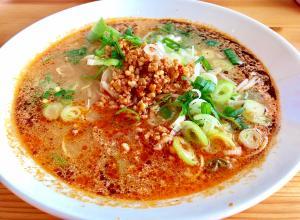 簡単ピリ辛スープで☆坦々麺