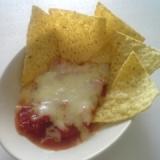 簡単チーズチップス