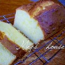 しっとり♪めぐ家の基本のパウンドケーキ♪♪