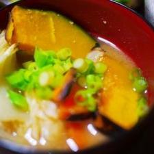 焼き野菜の味噌汁