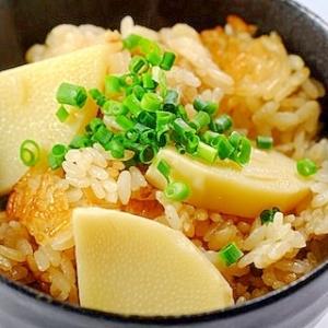 春の味! タケノコの炊き込みご飯