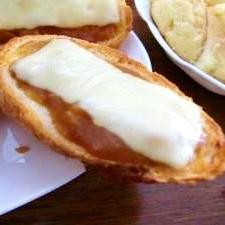 カレーチーズバゲット