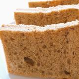 ソイカフェオレの米粉シフォンケーキ
