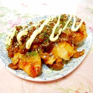 ❤鶏もも肉の甘酢照り焼き・茸ソテーを添えて❤