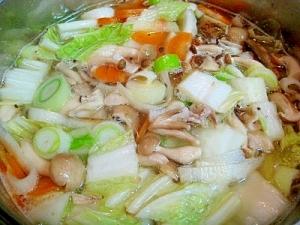 えのき氷タマネギ氷de野菜スープのベース~秋冬用