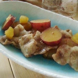 素朴な美味しさ!豚肉さつま芋煮