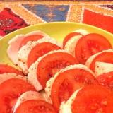 簡単一品☆トマトとモッツァレラのカプレーゼ風