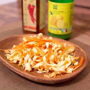 定番!前菜やお口直しやおつまみに、豆腐干糸の前菜