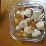マグロ缶と、里芋の煮物