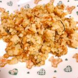 納豆とおからの 味噌チャーハン