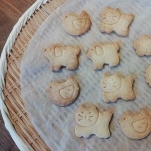シンプル型抜きクッキー