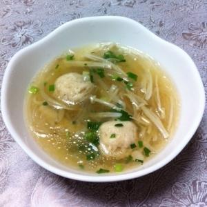 本格的な味♪鶏肉団子のスープ☆