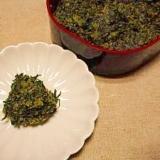 蕗の葉☆おかか蕗味噌