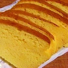 天ぷら粉で☆ザラメ入り卵ケーキ