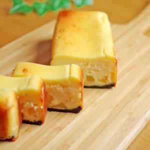 ホットケーキミックス活用☆簡単りんごのチーズケーキ