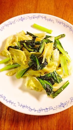 バーニャカウダソースの野菜炒め