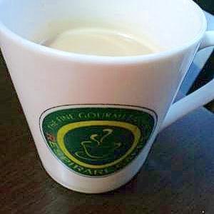 はちみつしょうがミルクコーヒー