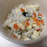 【離乳食後期】しらす野菜卵うどん