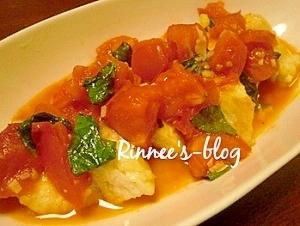 簡単!カジキのトマトバジルソース