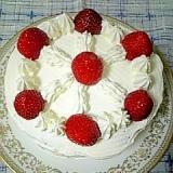 ホットケーキで☆簡単ショートケーキ☆