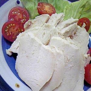鶏むね肉で簡単鶏ハム♪
