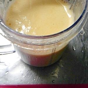 濃厚 マンゴー桃ジュース