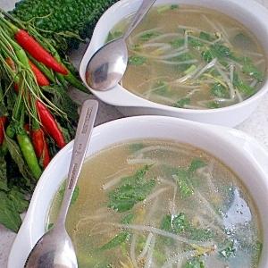 とろりと・・モロモヤ中華スープ