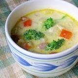 牛乳がまろやか 簡単なのにおいしいクリームスープ