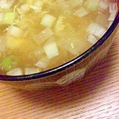 あったかコンソメスープ