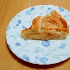 焼きリンゴでアップルパイ