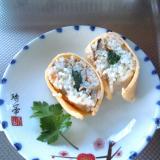 薄焼き卵で♪簡単巻き寿司