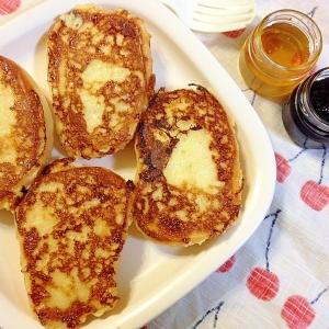 コストコのディナーロールde☆フレンチトースト