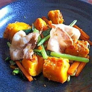 妊婦 食事 レシピ 野菜栄養たっぷり豚バラ炒め